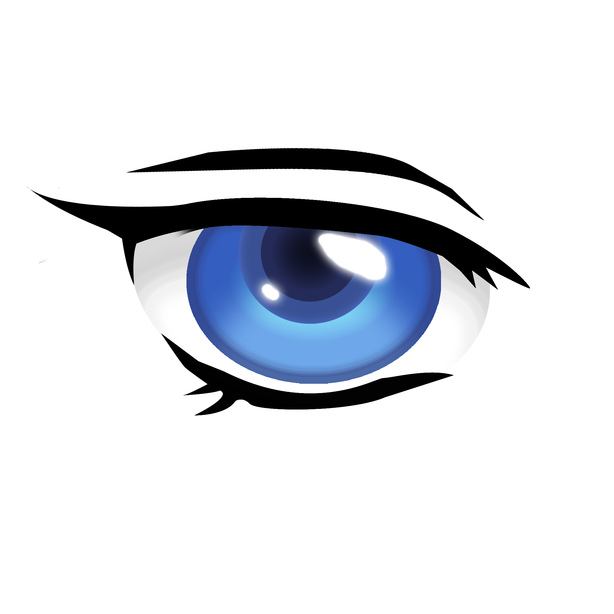 Anime eyes png. D help needed