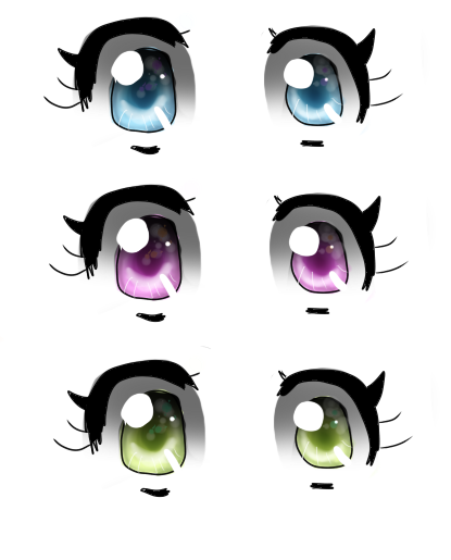 Anime eyes png transparent. By carcormcfly on deviantart
