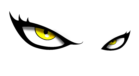 cat eyes png