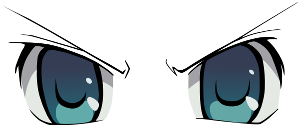 Anime eyes png transparent. Angry cartoon html download