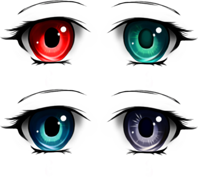 Anime pack by tashamille. Crying eyes png svg library stock
