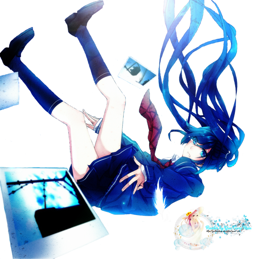 Anime falling png. Render girl by yue