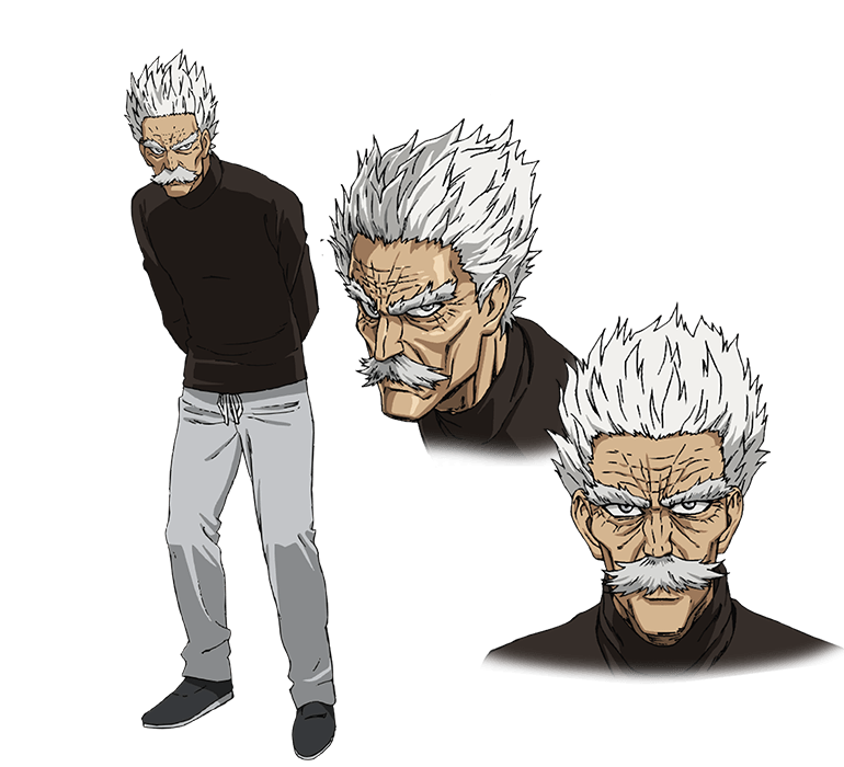 Blood fangs anime png render. Silver fang from one