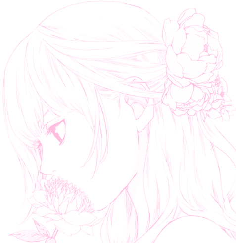 Anime flower png. Download hd and girl