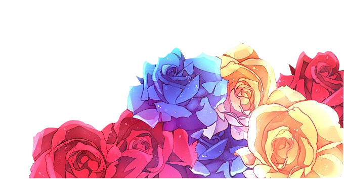 anime roses png