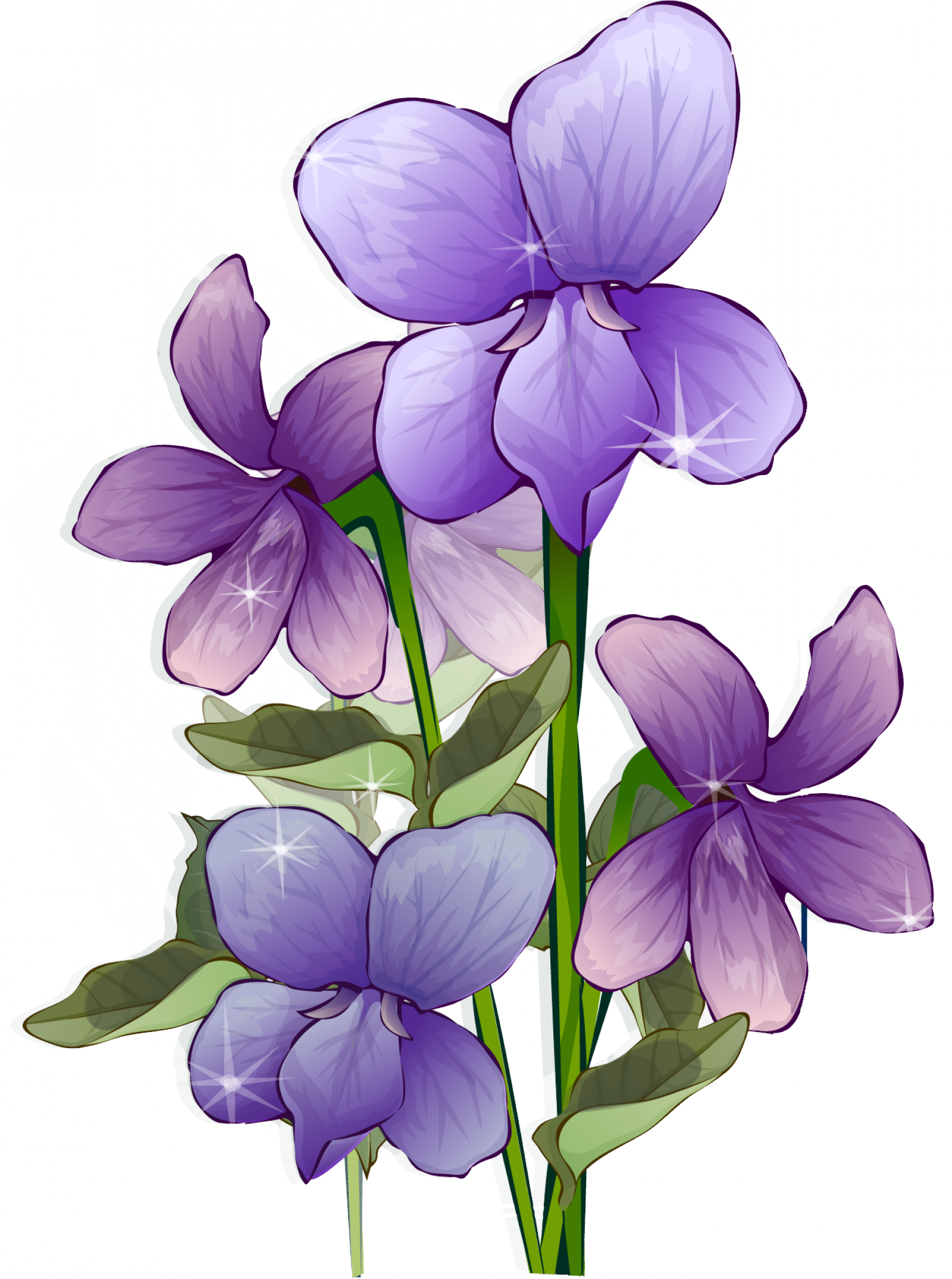 Anime flower png. Purple transparent pictures free