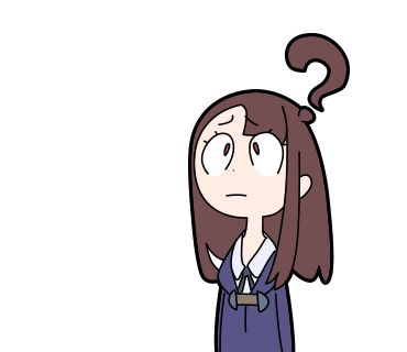 Looking anime girls with. Confused girl png vector freeuse stock