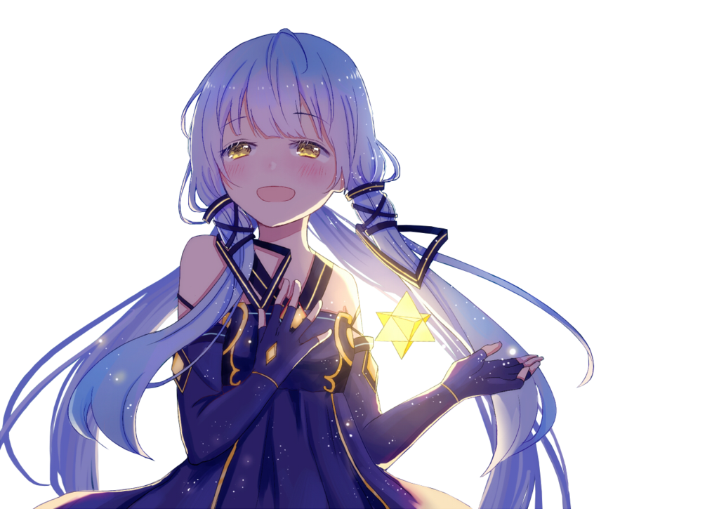 Anime girl crying png. Render stardust by animerenders