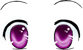 Cute anime eyes png. Image