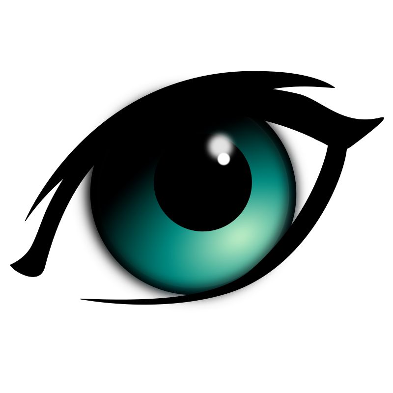 Anime girl eyes png. Eye transparent pictures free