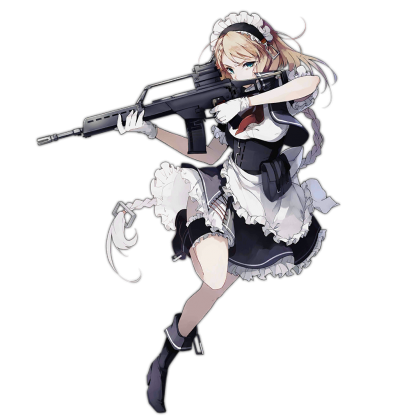 Anime girl gun png. G gungi l pinterest