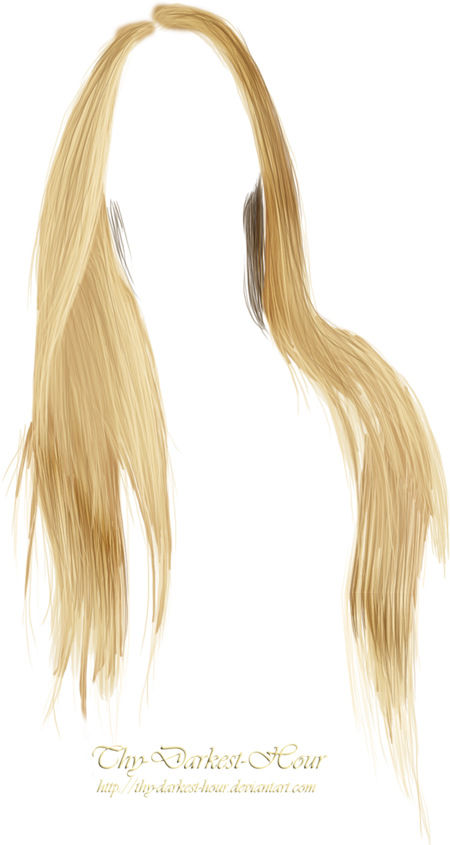 Anime girl hair png. By thy darkest hour
