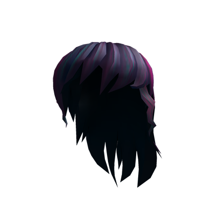 Anime girl hair png. Image black roblox wikia