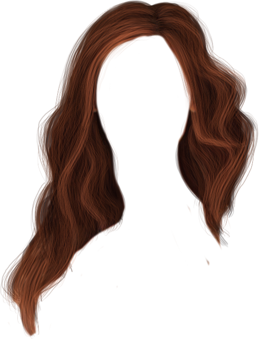 brown hair png