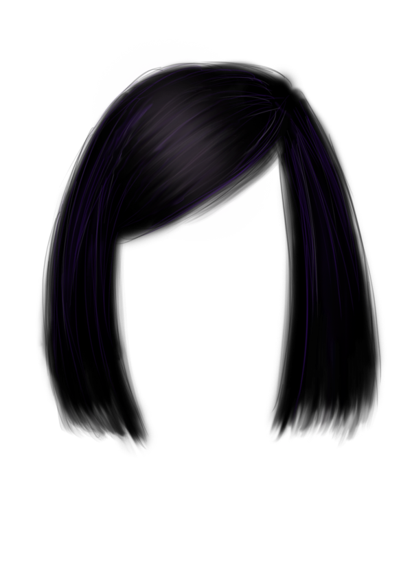 Anime girl hair png. Elvis transparent images pluspng