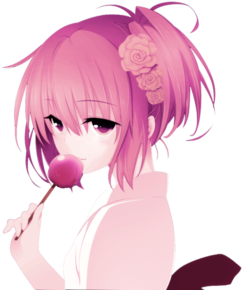 Anime girl pink png. Pastel colors cerca amb