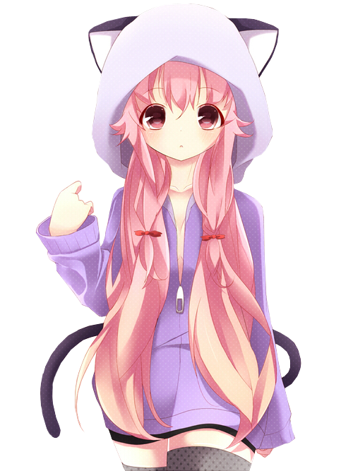 Anime girl pink png. Cute google stuff to