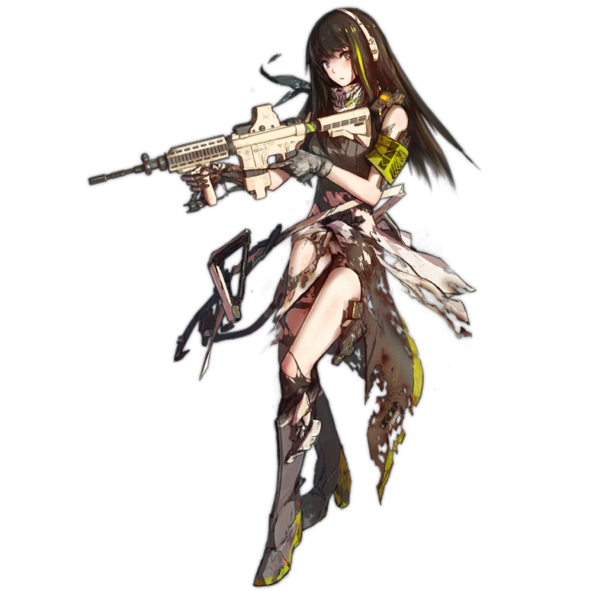 Pin by gosha on. Anime girl with gun png vector