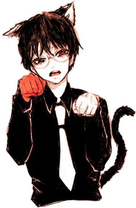 Anime glasses png. Download boy with image
