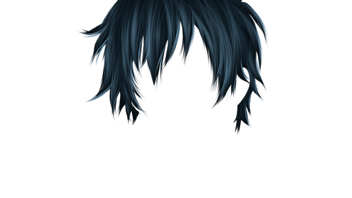 Manga hair png. Ultimate editing posted by