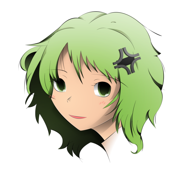 Anime head png. Girl by animeenthusiast on