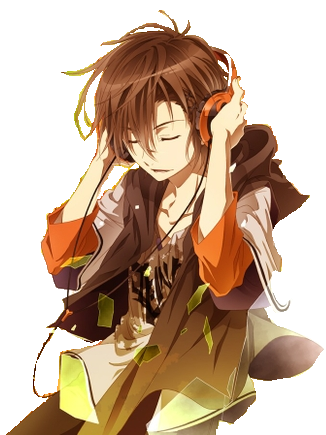 Boys with google search. Drawing headphones anime headphone clip freeuse