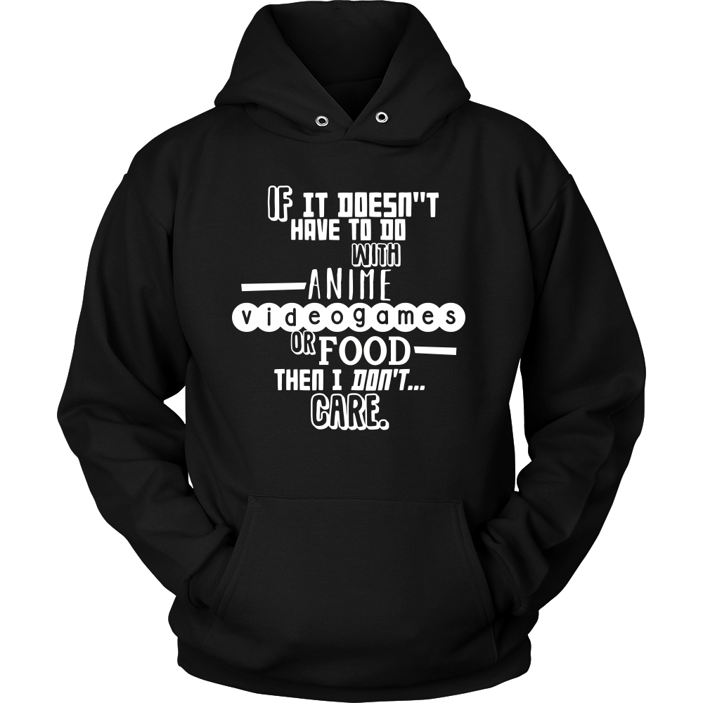 Anime hoodie png. Funny and food quote