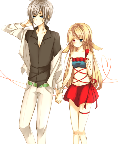 Anime love png. Download free couple picture
