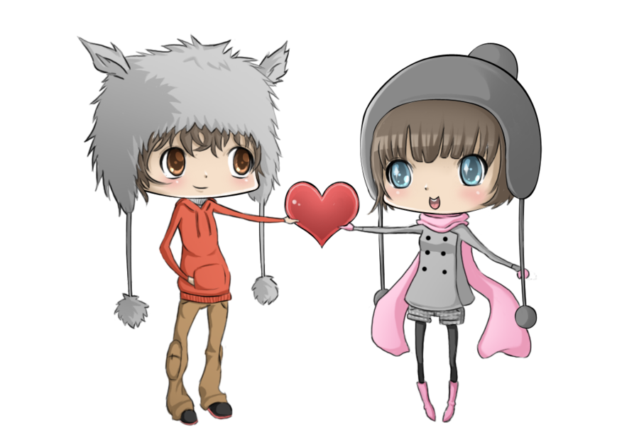 Anime love png. Chibi by puffyko on