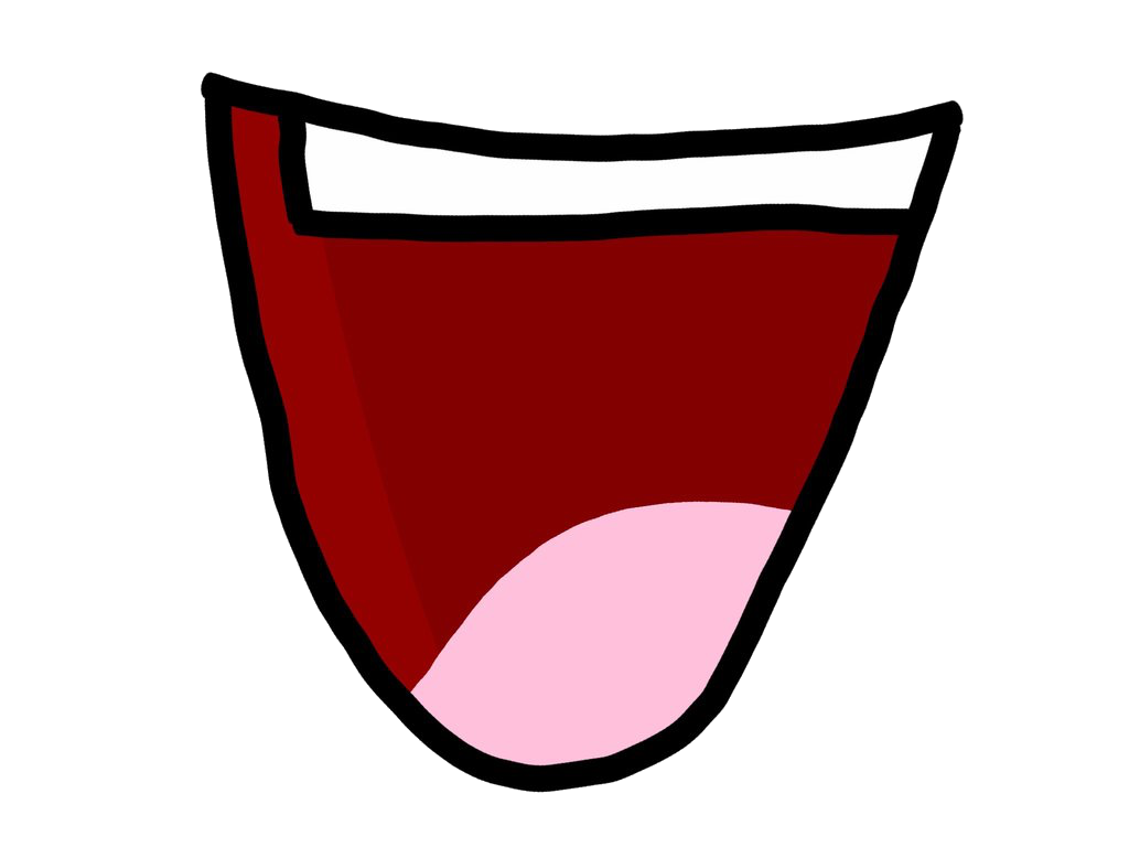 Anime mouth png. Image a fanmade bfdi
