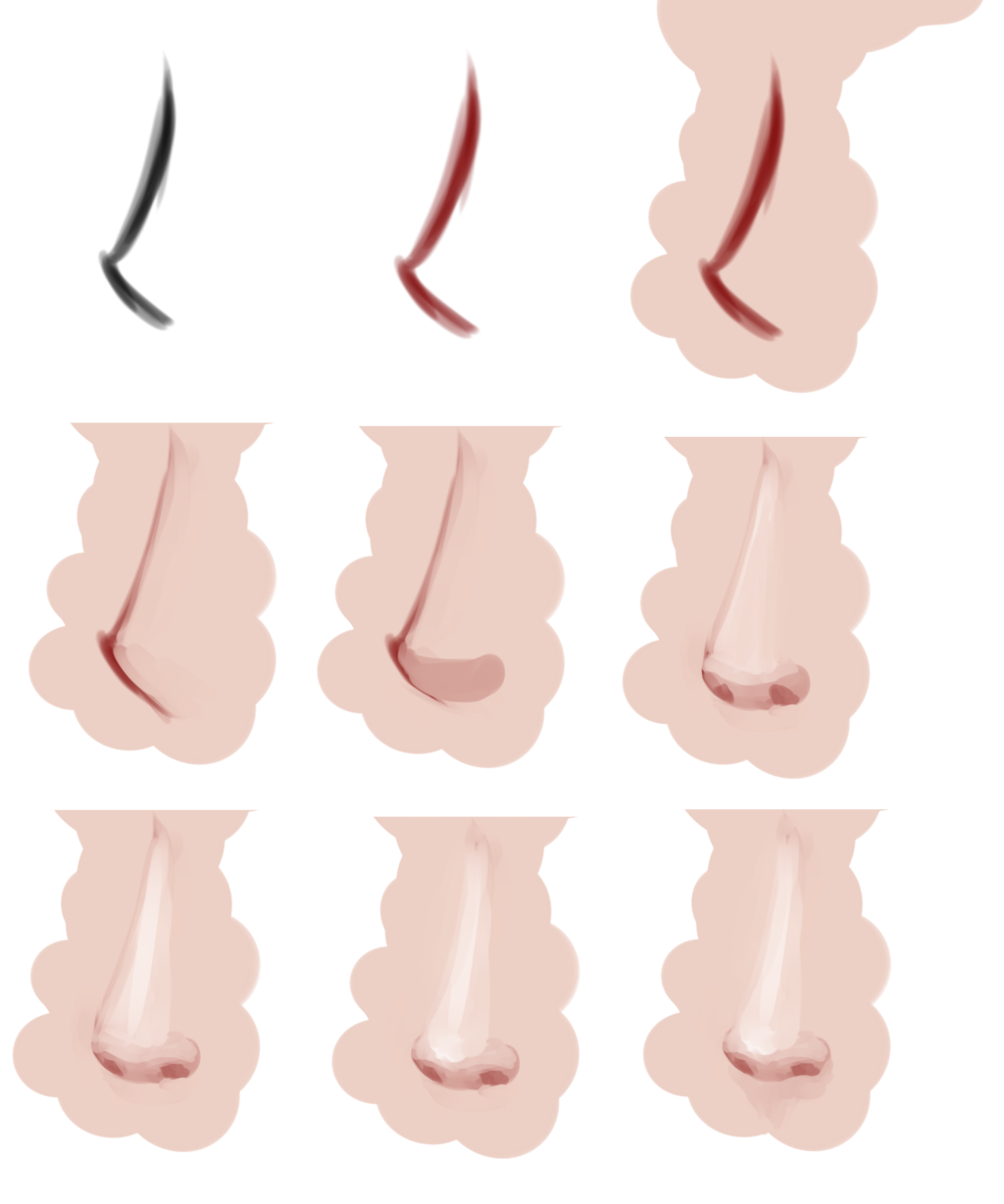 Anime nose png. Drawing at getdrawings com