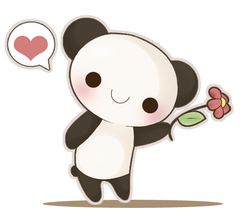 Anime panda png. By aina a on