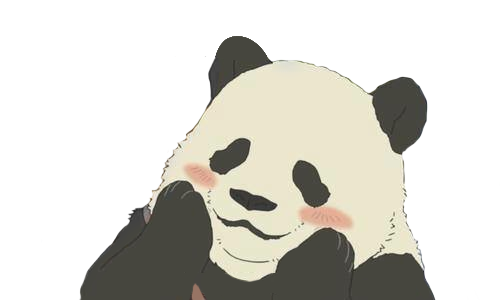 Anime panda png. Images about overlays