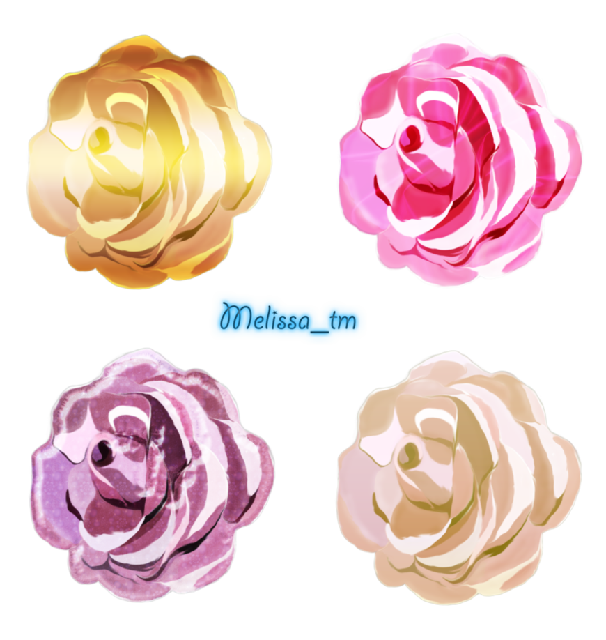 Anime roses png. By melissa tm