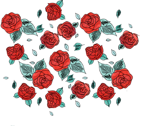 Anime roses png. By milkyanunnie on deviantart
