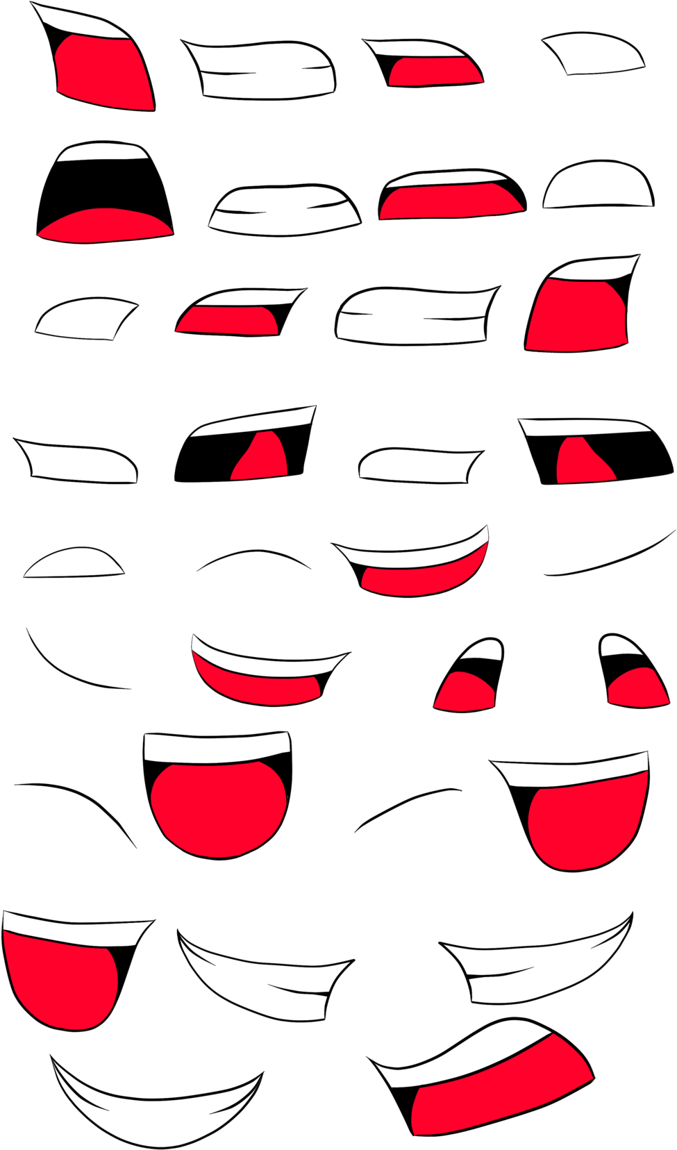 Anime mouth png. Download for free on