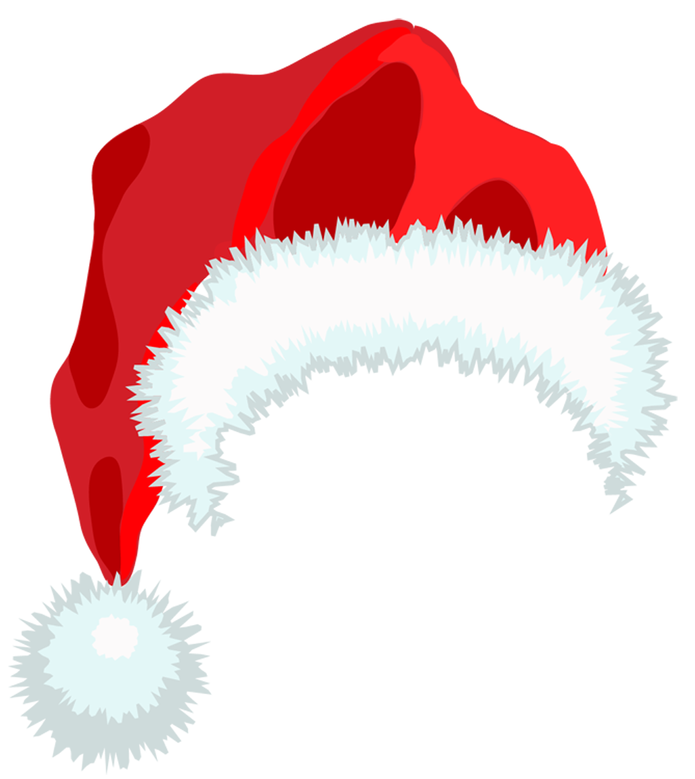 Anime santa hat png. Christmas claus transparent images