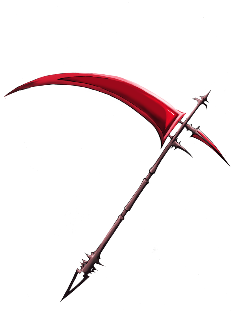 Anime scythe png. Image lich of gremory