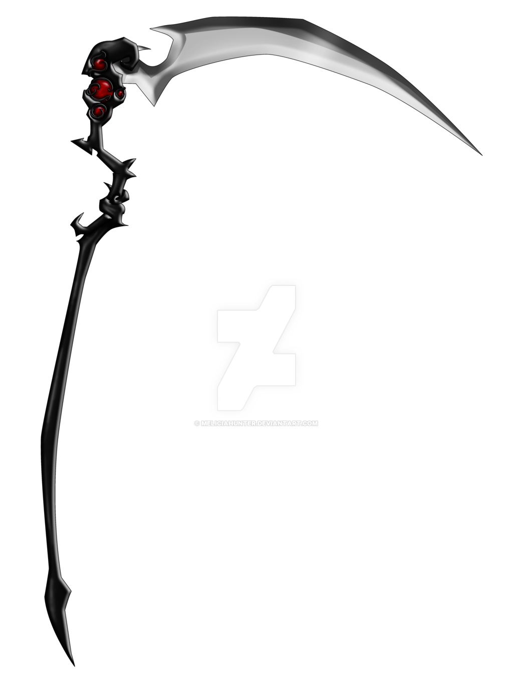 Anime scythe png. By meliciahunter d rwp