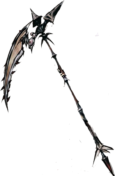 Transparent reaper scythe. Download hd anime png