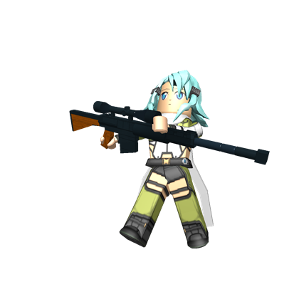 Anime sniper png. Roblox