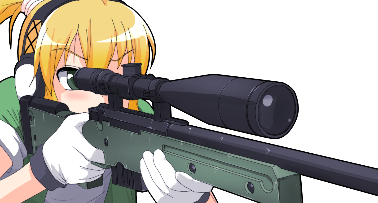 Anime sniper png. Image material limmie s