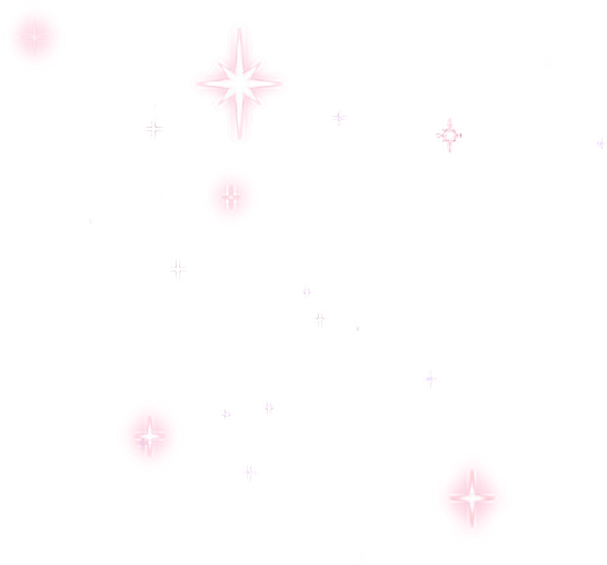 White sparkle png. Stars pink shine stickers