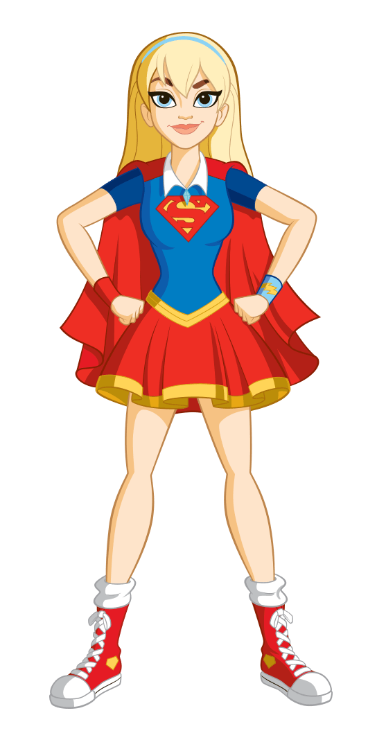 Anime supergirl png. Class is in session