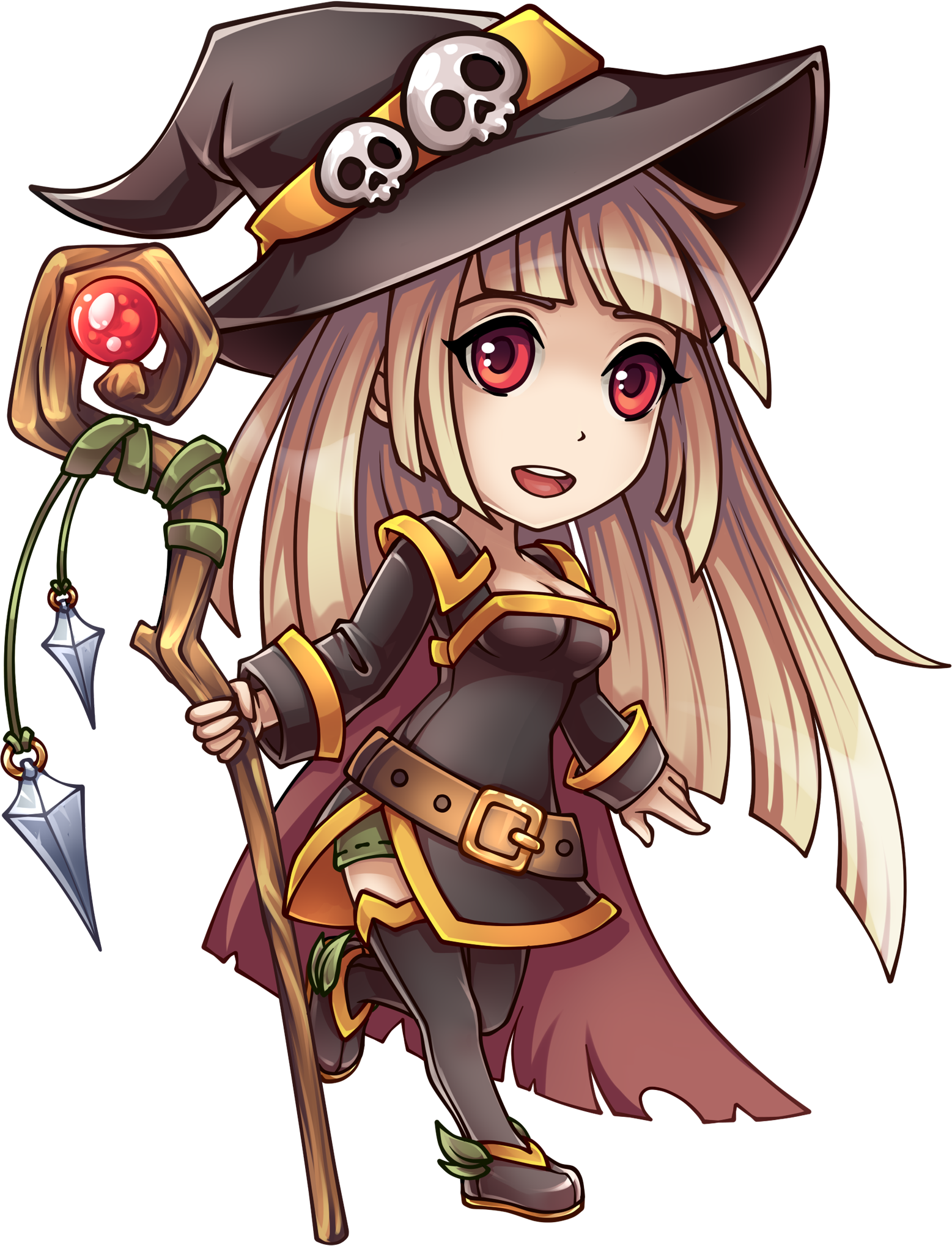 Anime witch png. Image girl pirates of