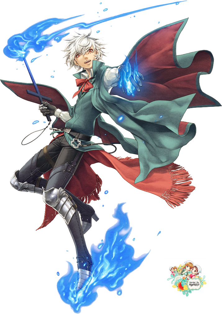 Anime wizard png. Image render boy by