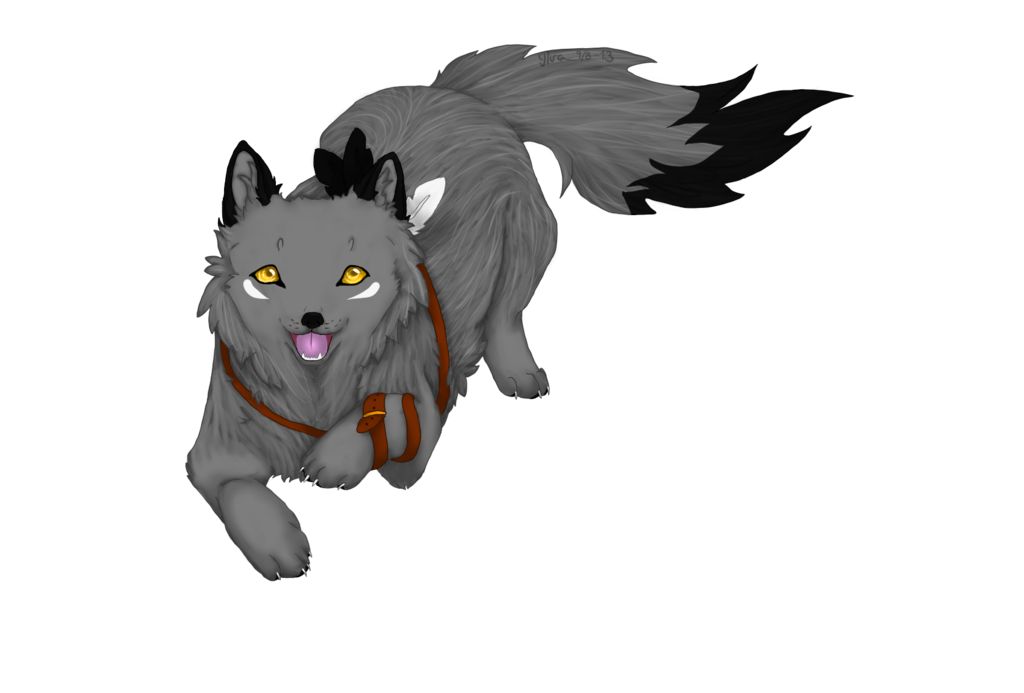 Anime wolf png. Grey puppy by wolves