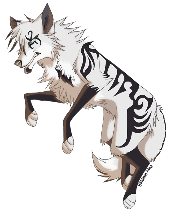 Anime wolf png. Bulletproof by haildawn on