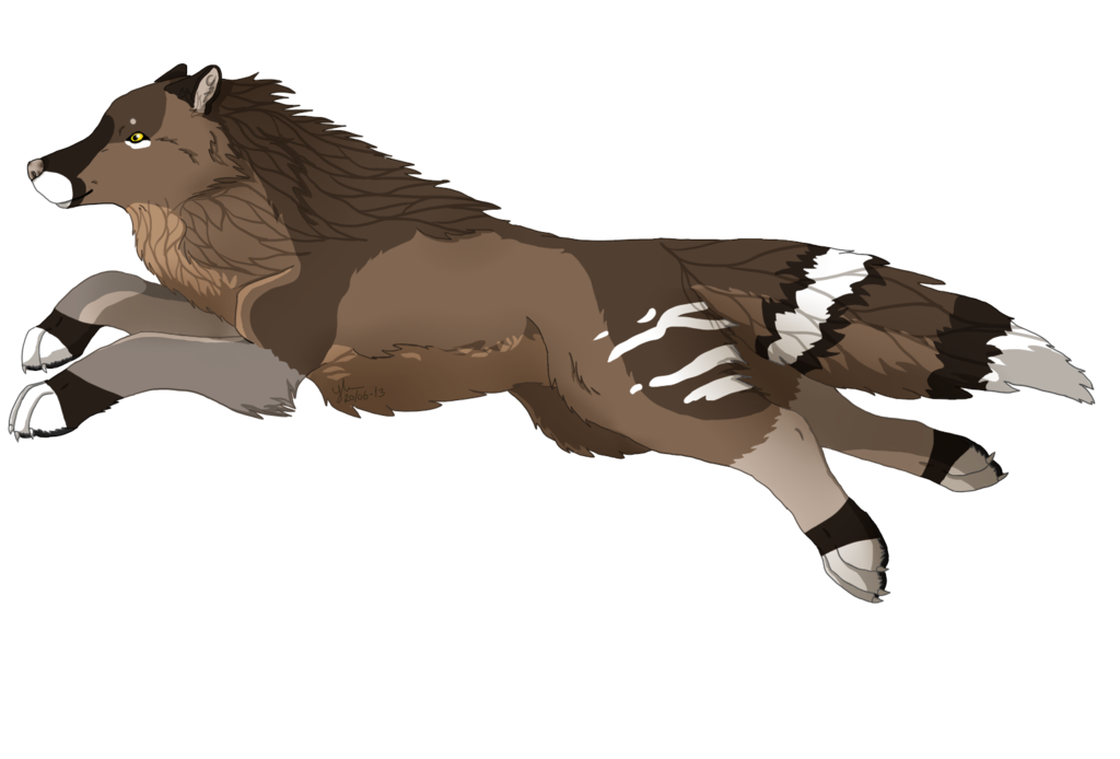Anime wolf png. Unnamed characther by wolves