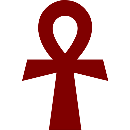 Ankh png. Maroon icon free civilization